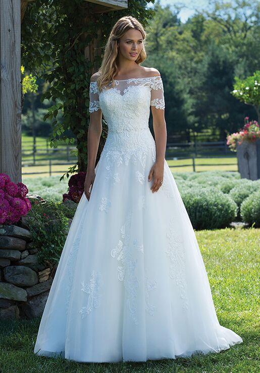 Sincerity Bridal 3989 Ball Gown Wedding Dress