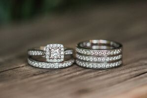Sleek, Modern Wedding Rings
