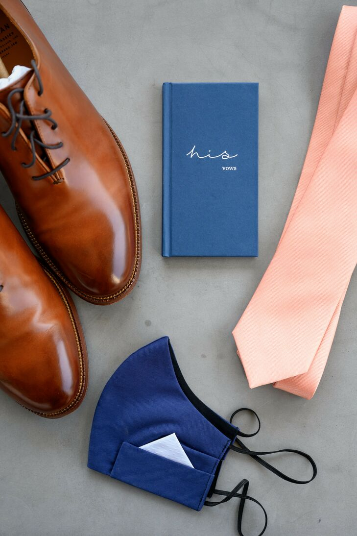 Groom Accessories for Modern Wedding at South Congress Hotel in Austin, Texas