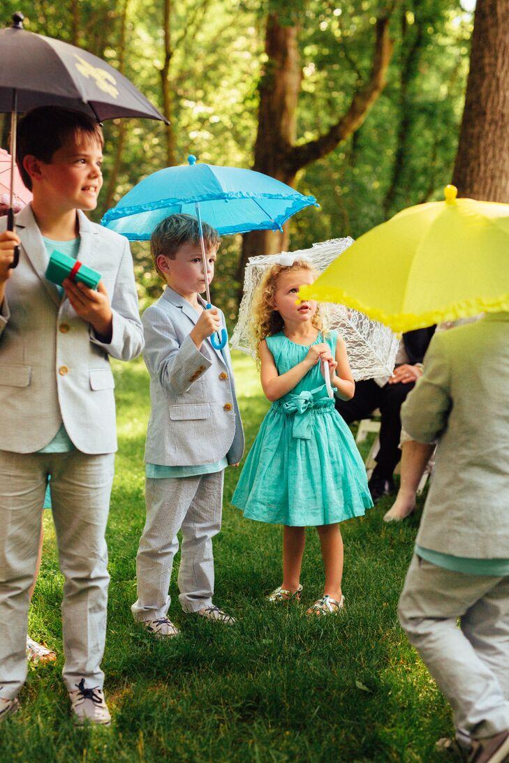 Bright Wedding Umbrellas And Parasols