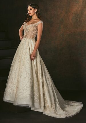 Amaré Couture C158 Alanis A-Line Wedding Dress