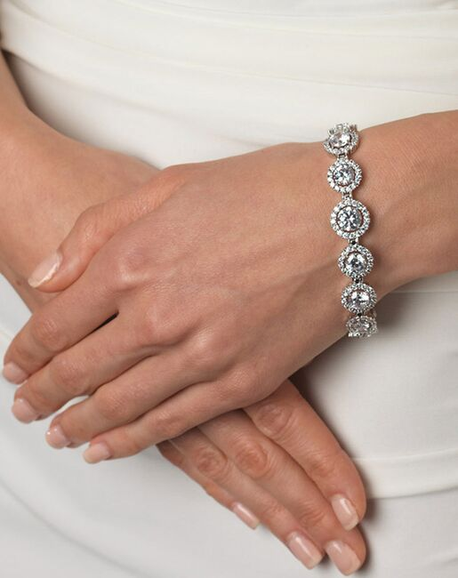Dareth Colburn CZ & Pavé Bracelet (JB-1542) Wedding Bracelets photo