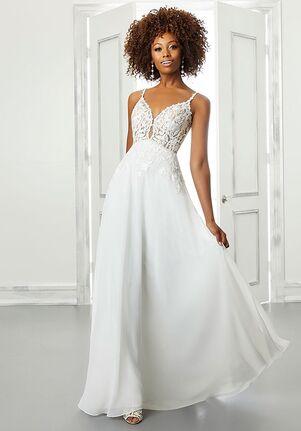 Morilee by Madeline Gardner/Blu Becca A-Line Wedding Dress