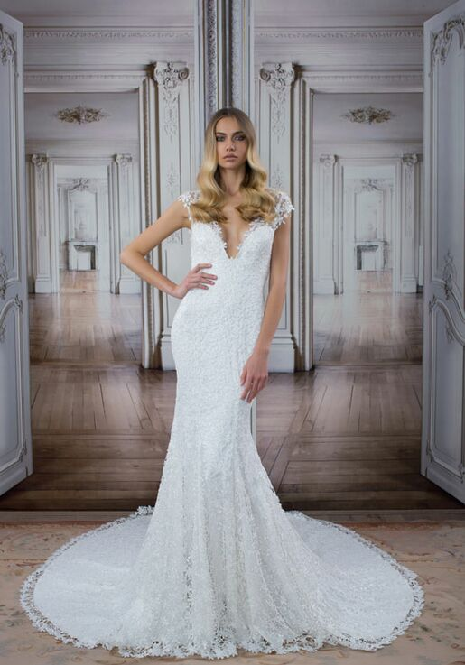 ed3ac2264f63 LOVE by Pnina Tornai for Kleinfeld 14416 Wedding Dress | The Knot