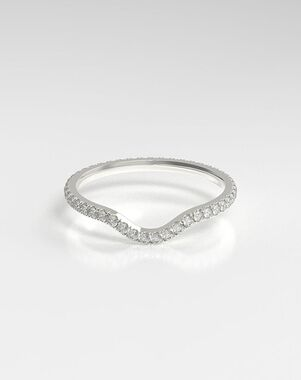 HOLDEN The Curved Eternity Platinum, Rose Gold, White Gold Wedding Ring