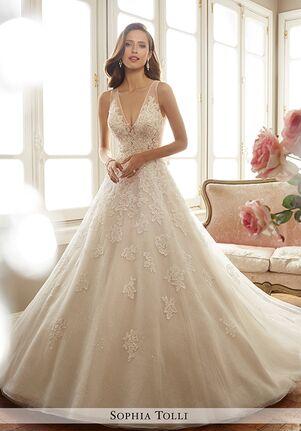 Sophia Tolli Y11701 Ciel A Line Wedding Dress