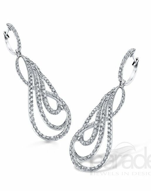Parade Designs E3225A from the Lumiere Collection Wedding Earrings photo