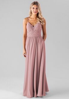 Kennedy Blue Caitlin V-Neck Bridesmaid Dress