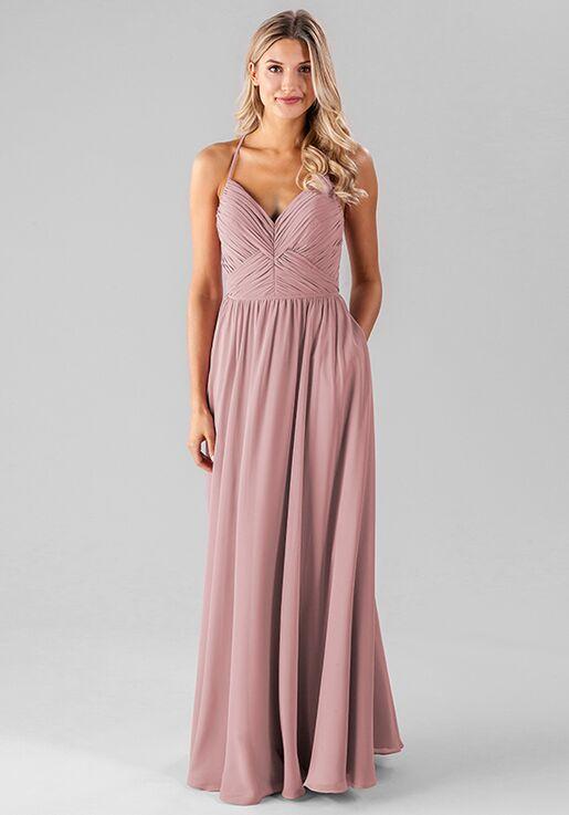Kennedy Blue Caitlin V-Neck Bridesmaid Dress