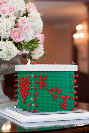 Creative Lego Wedding Card Box