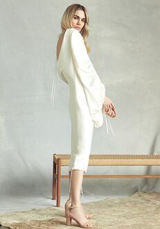 Savannah Miller Zoe Sheath Wedding Dress