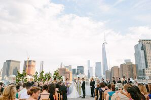 Tribeca Rooftop Wedding Ceremony Location