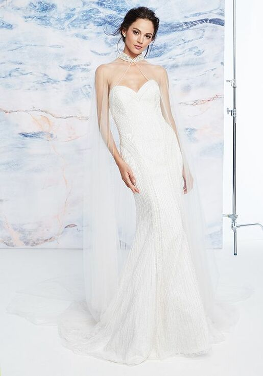 Justin Alexander Signature Whitby Sheath Wedding Dress