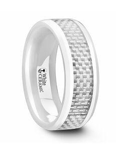 Mens Tungsten Wedding Bands C1265-WCCF Tungsten Wedding Ring