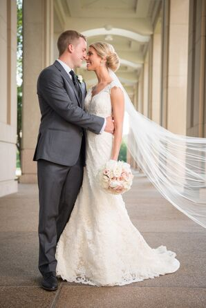 Modern Wedding Portrait in Indianapolis, Indiana