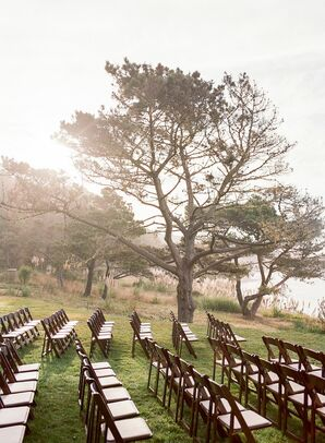 Ceremony Chairs at Timber Cove Resort in Jenner, California