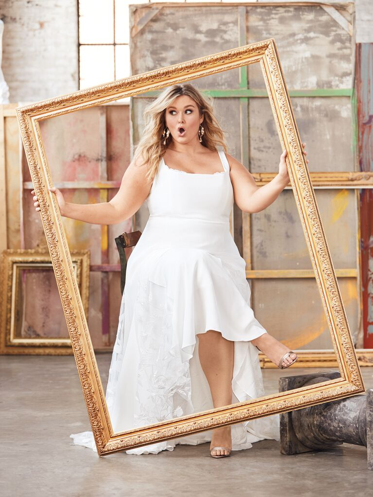 Hunter McGrady Wants to Transform Wedding Dress Shopping for All