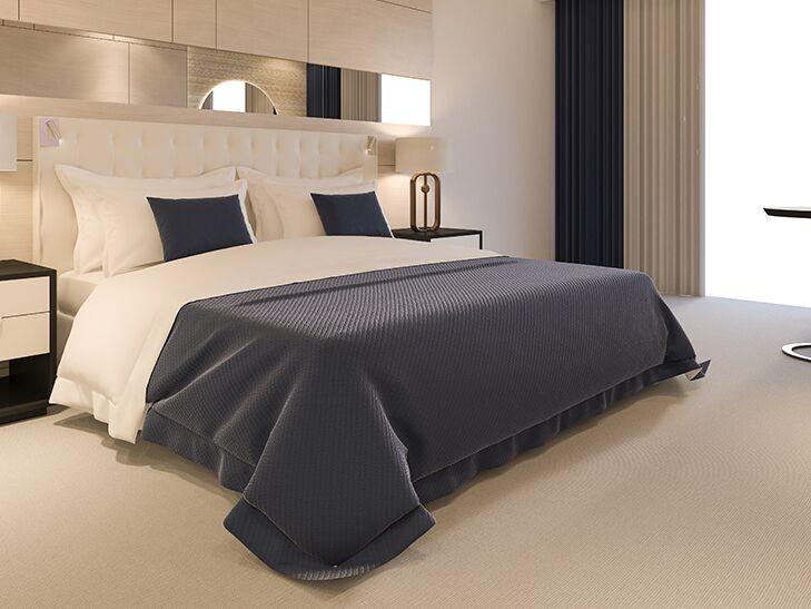 Luxe hotel room