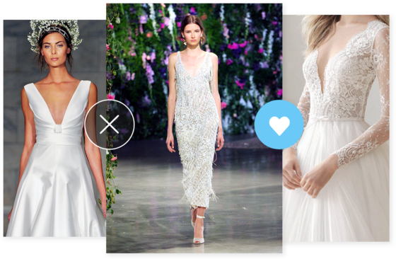 Find Your Wedding Fashion at The Knot