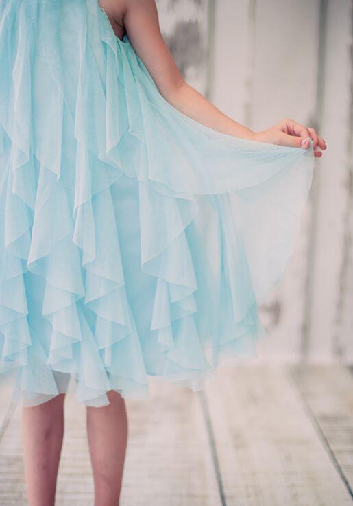 Kid's Dream 8055 Purple Flower Girl Dress