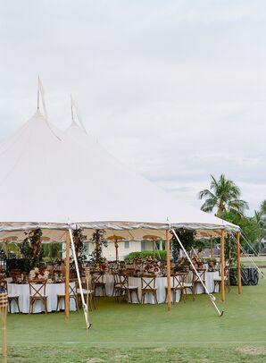 Tented Reception at The Gasparilla Inn in Boca Grande, Florida