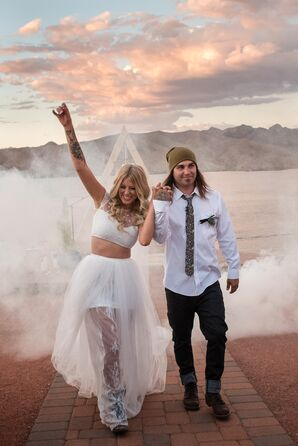 Modern Desert Wedding in Arizona
