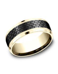 Benchmark CF948331BKT14KY Gold Wedding Ring