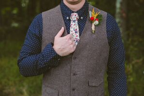 Vintage Groom Attire