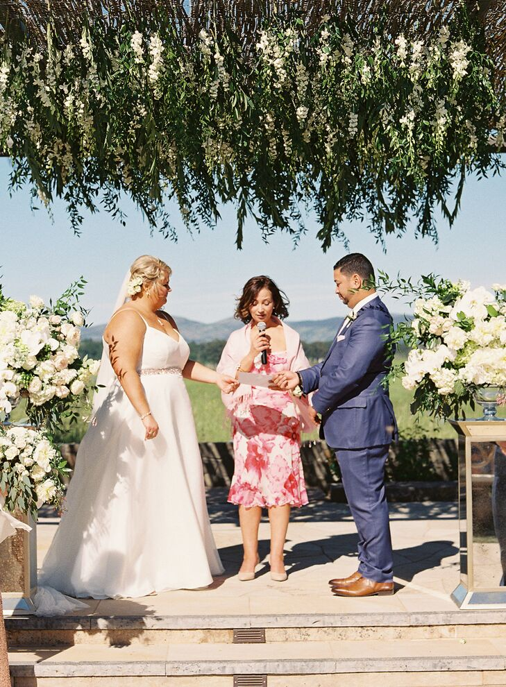 Outdoor Ceremony at Carneros Inn in Napa, California