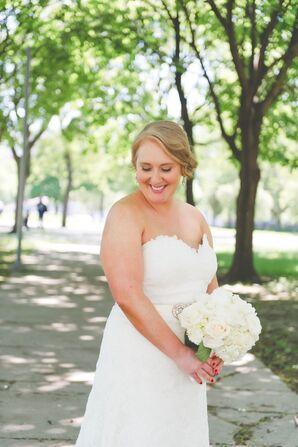 White Lace Eugenia Couture Wedding Dress