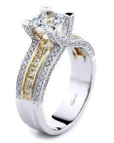 Supreme Jewelry Elegant Round Cut Engagement Ring