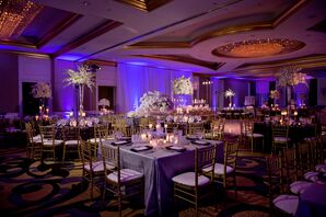 Glamorous Purple Reception