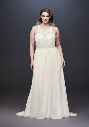 David's Bridal David's Bridal Styl e9WG3895 A-Line Wedding Dress