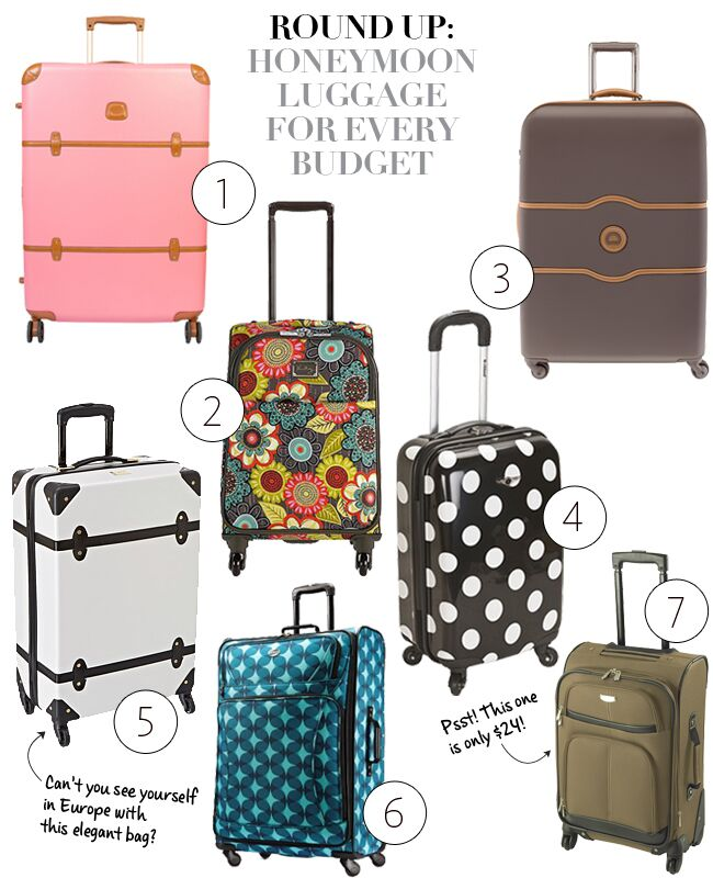 39520a895b24 Honeymoon Luggage For Every Budget