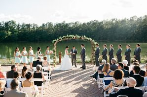 Angus Barn Lakefront Ceremony