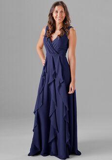 Kennedy Blue Everly V-Neck Bridesmaid Dress