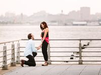 New York City marriage proposal