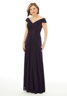 MGNY 72229 Blue Mother Of The Bride Dress