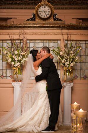 Shantelle and Alex First Kiss