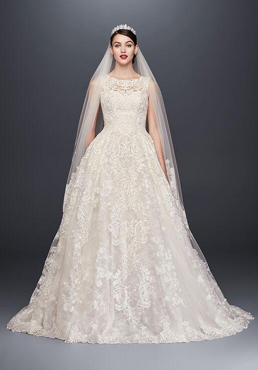 904761cc47863 Oleg Cassini at David s Bridal Oleg Cassini at David s Bridal Style CWG780 Ball  Gown Wedding Dress