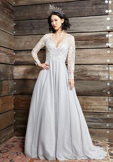 Ivy & Aster Touch of Grey Ball Gown Wedding Dress