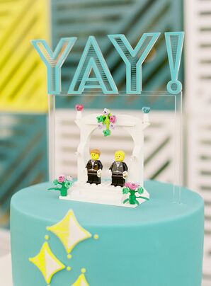 Lego Cake Toppers at Colony 29 in Palm Springs, California