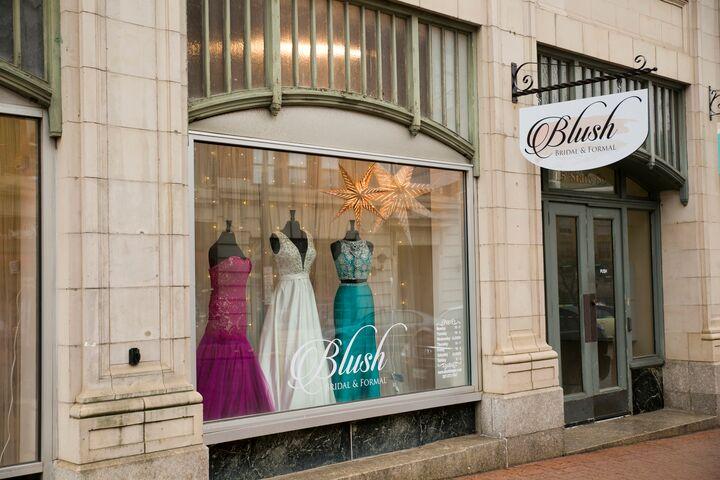 Blush bridal formal bangor bangor me storefront photo junglespirit Choice Image