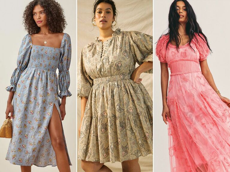Cottagecore dresses to wear as a wedding guest