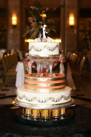 Gatsby-Inspired Wedding Cake