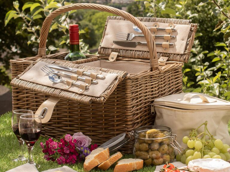 Holly and Fred picnic basket