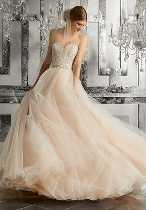 Morilee by Madeline Gardner Mystique   Style 8175 Ball Gown Wedding Dress