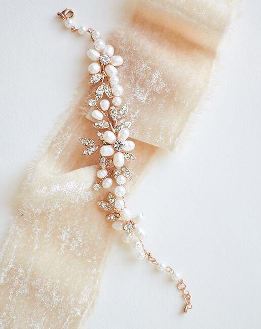Dareth Colburn Dahlia Freshwater Pearl Bracelet (JB-4818) Wedding Bracelets photo