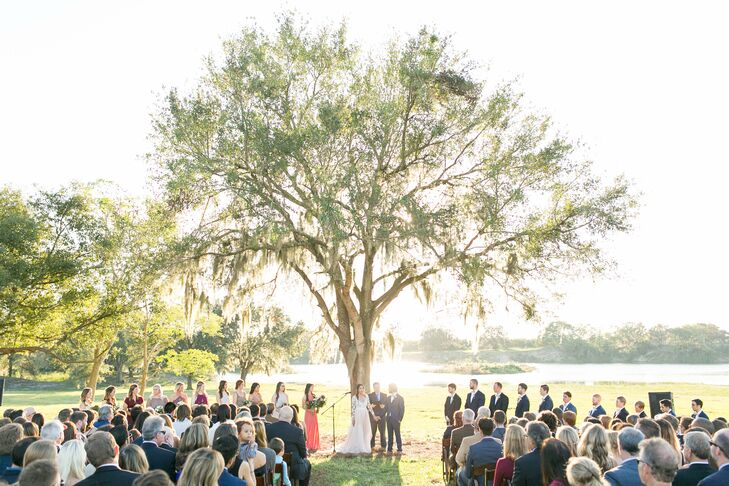 Outdoor Ceremony at a Private Residence in Lakeland, Florida