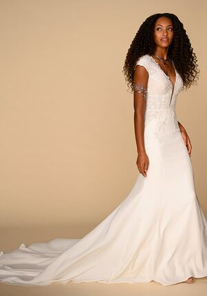 All Who Wander Emery Sheath Wedding Dress